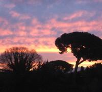 tramonto dalla mia finestra (2)